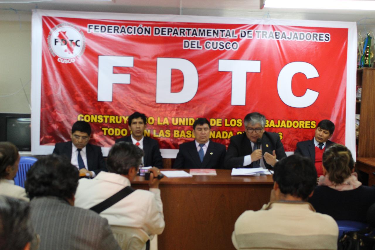 Album: Conferencia de Prensa de Comisión Organizadora Congreso FDTC