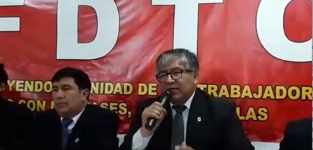 Video: Conferencia de prensa de Comisión Organizadora de Congreso FDTC