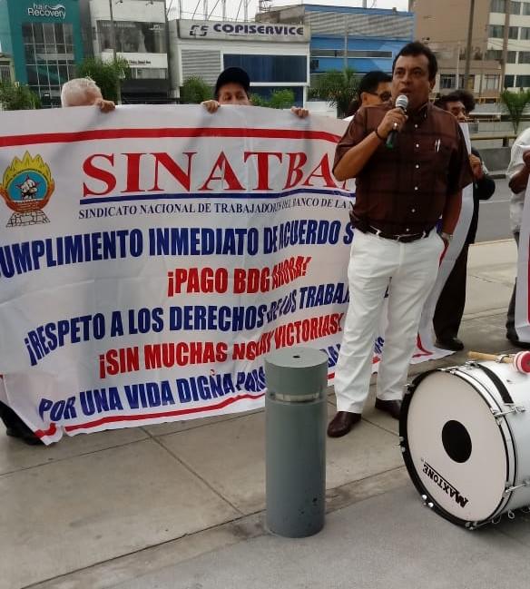 Paro de Trabajadores del Banco de la Nación de Cusco: 13 mayo 2019
