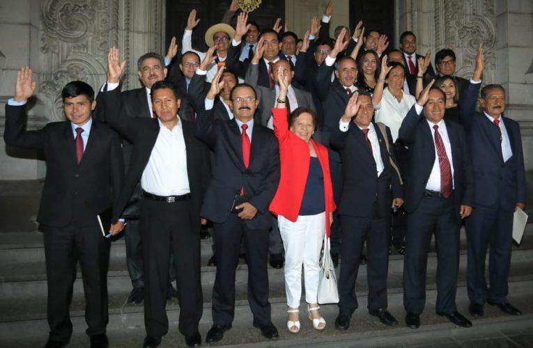 Congresistas de Acción Popular, oyendo el clamor de trabajadores, presentan Proyecto de Ley que deroga DU 014-2020